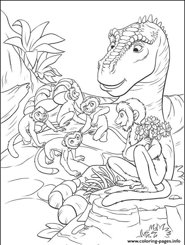 Dinosaur 99 coloring pages