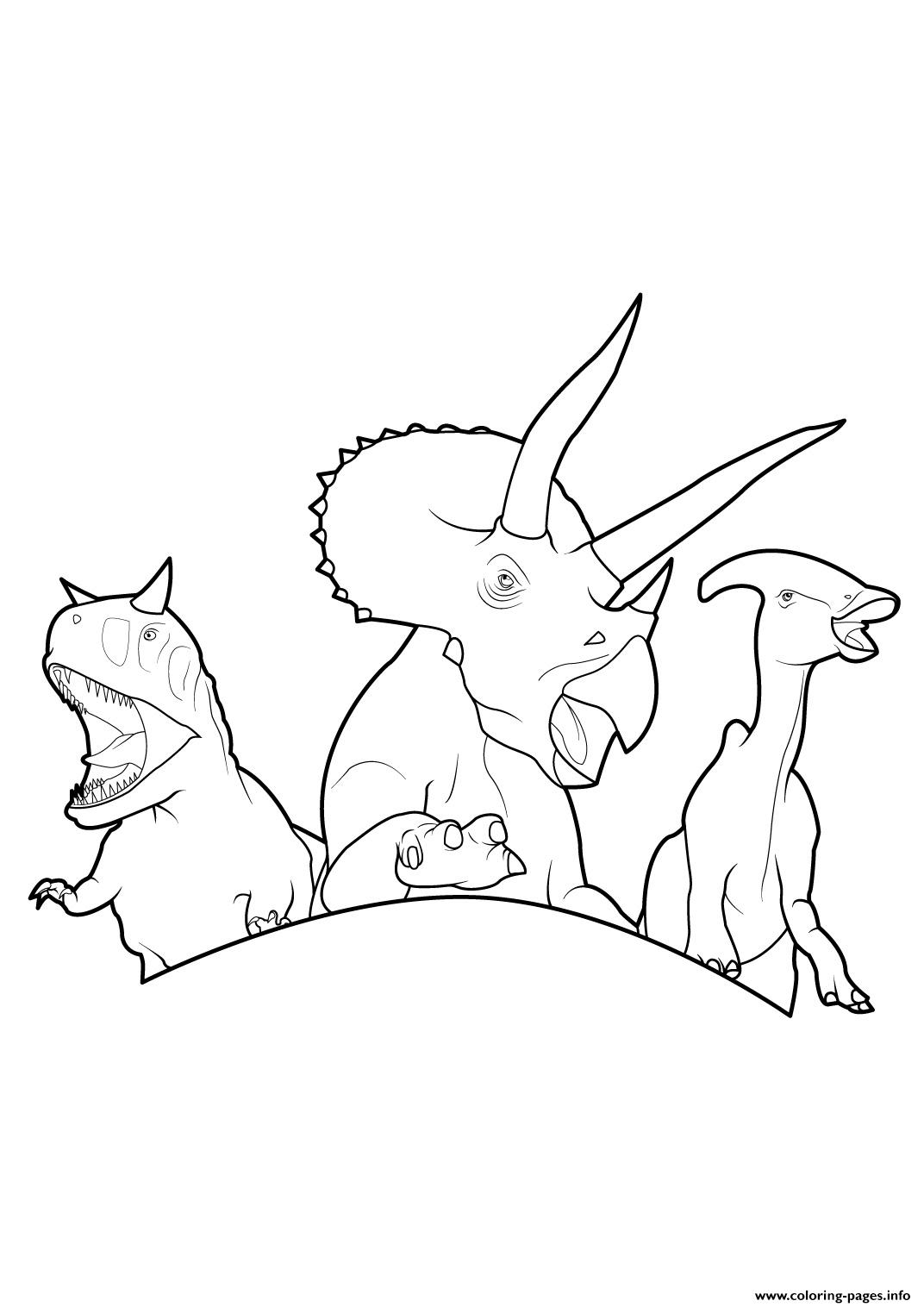 Dinosaur 363 coloring pages