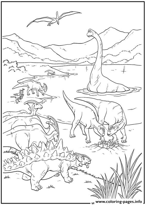Dinosaur 36 coloring pages