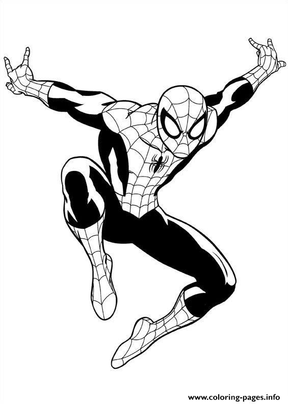 Ultimate Spiderman 3 Coloring Pages