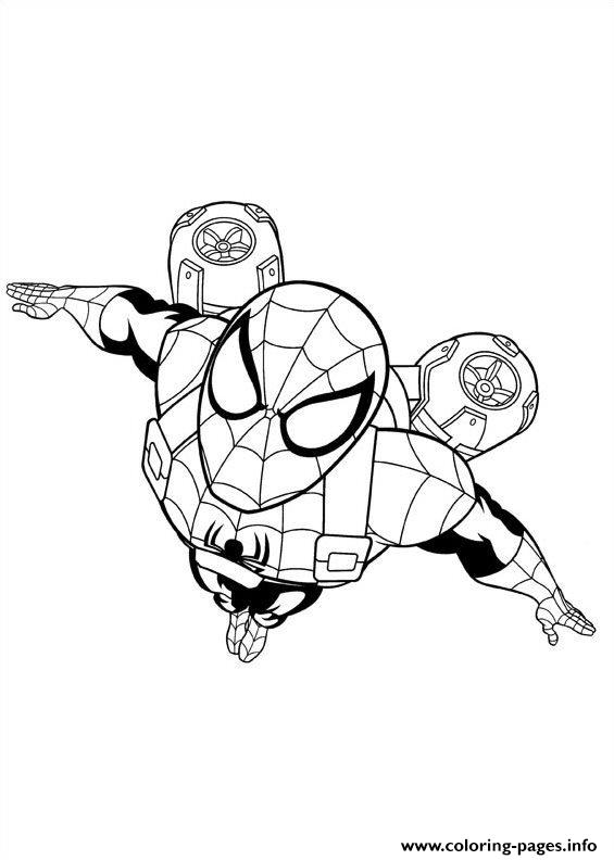 Ultimate Spider Man 2 coloring pages