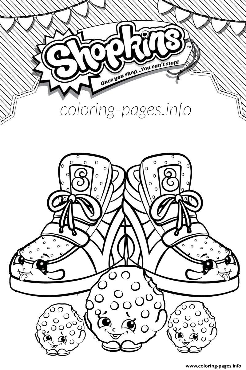 Print Cookie Shopkins Season 1 Coloring Pages Colouring Coloring
