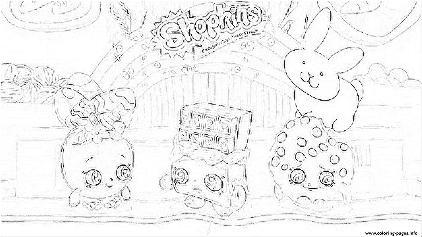 Hopkins Coloring Pages Print Baseball Casper Cap Shopkins Season 3 Printable And Book