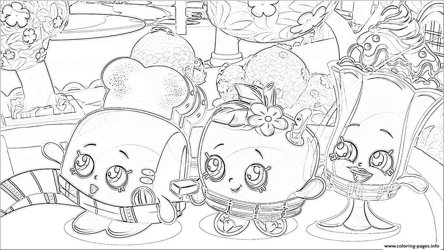 shopkins season 2 episode 3 coloring pages