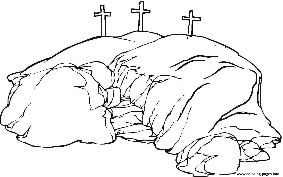 Good Friday Calvary Coloring Pages Print Download 303 Prints