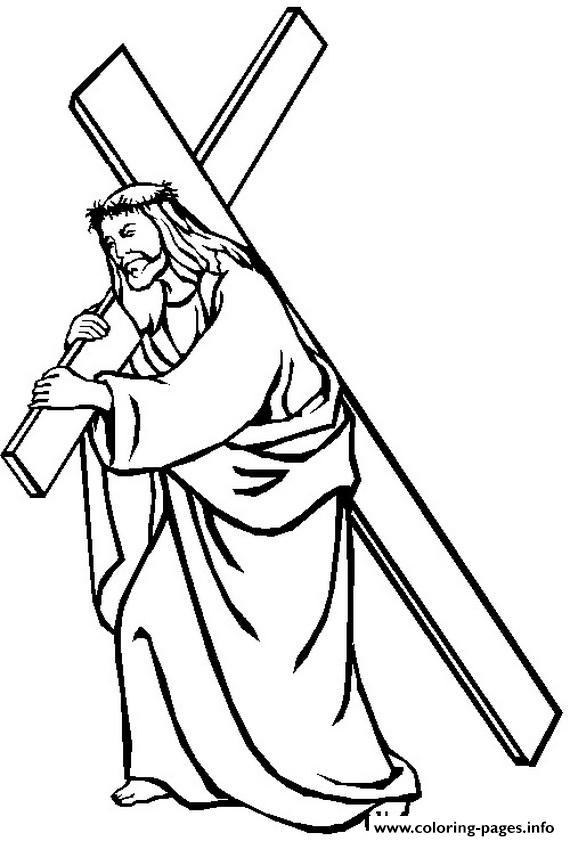 Good Friday Jesus 17 coloring pages