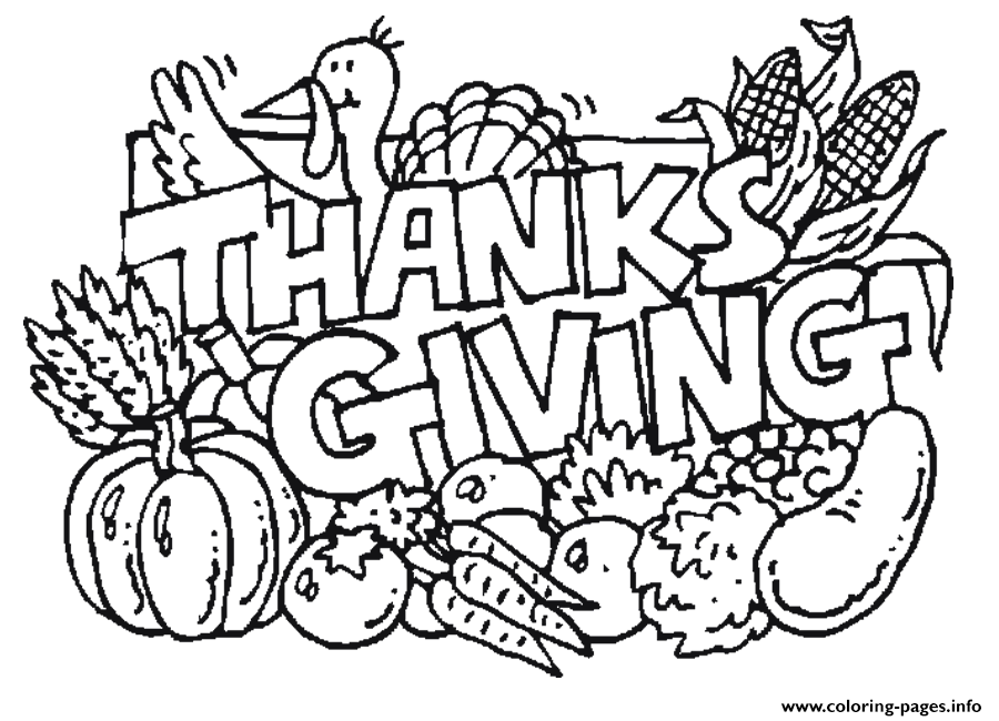 Kids Easy Thanksgiving S Printables2b3c Coloring Pages Printable