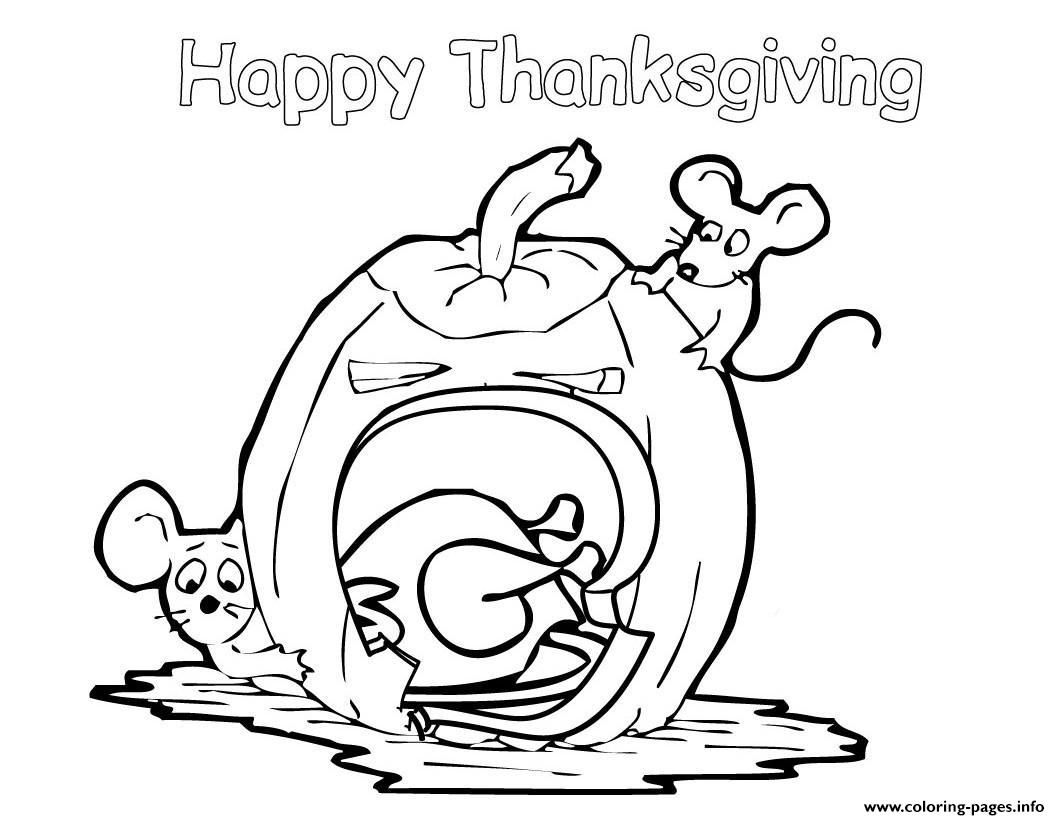 Free Happy Thanksgiving S Childrena596 coloring pages