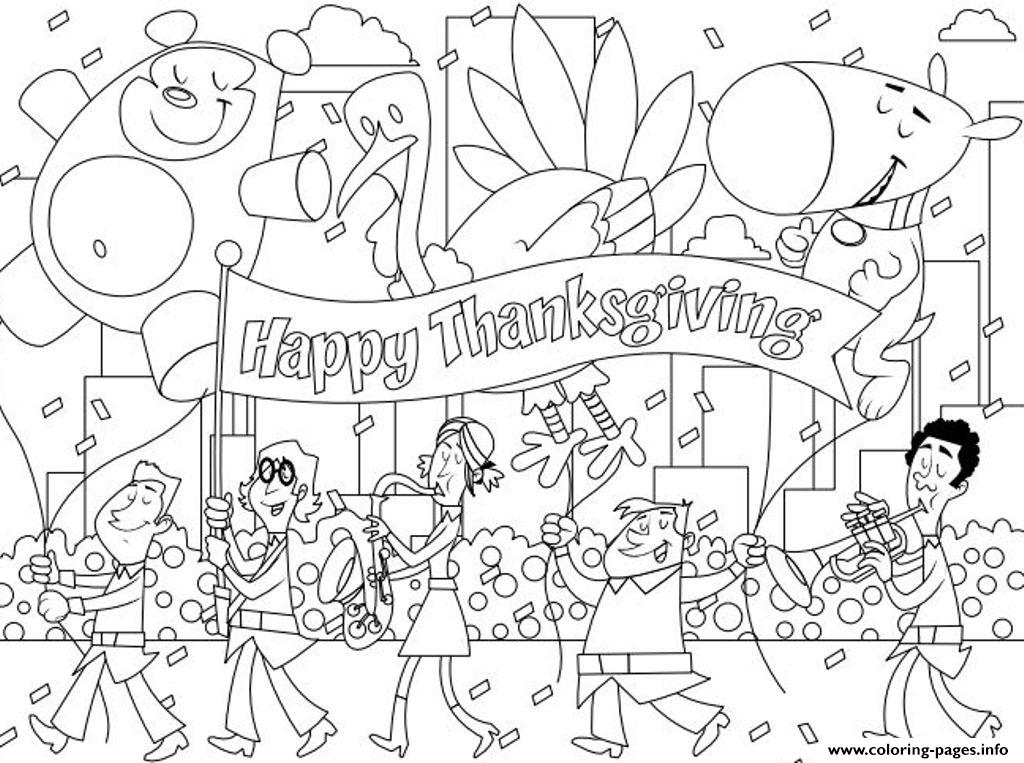 Printable Thanksgiving Celebration20ad coloring pages