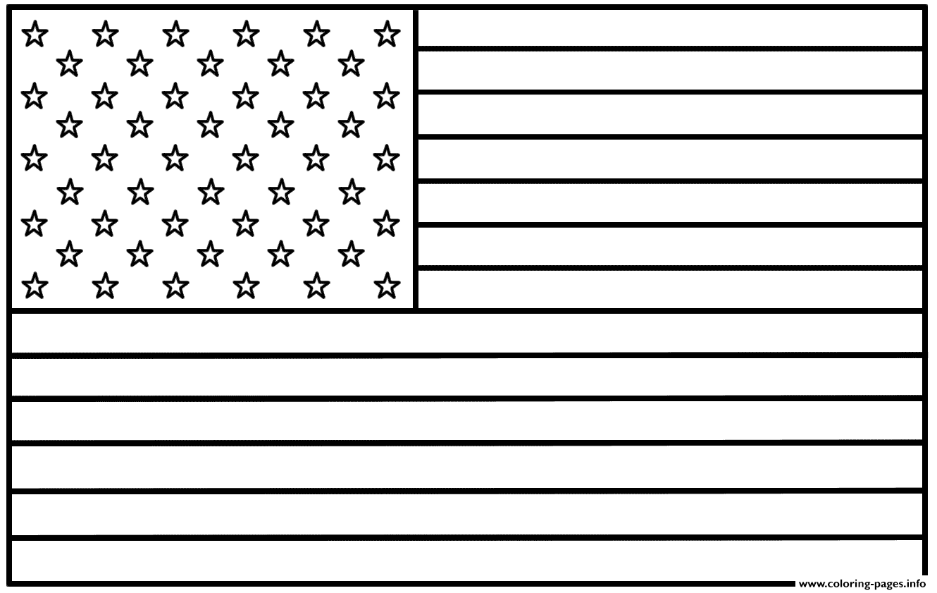 Japan Flag Coloring Pages Printable