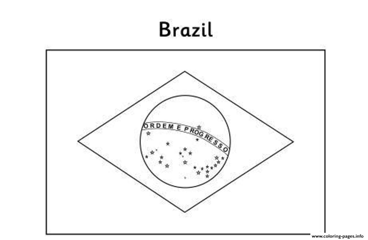 how to draw brazil flag
