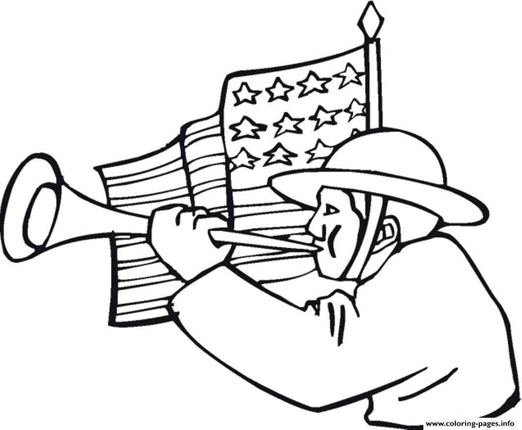 Veteran American Flag 6847 coloring pages