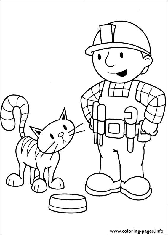 Bob the builder 77 coloring pages printable for Bob the builder coloring pages printable