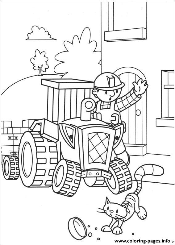Bob the builder 80 coloring pages printable for Bob the builder coloring pages printable