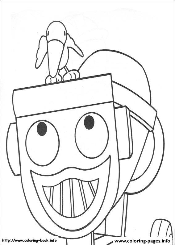 Bob The Builder 11 Coloring Pages Print Download