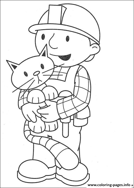 Bob the builder 85 coloring pages printable for Bob the builder coloring pages printable