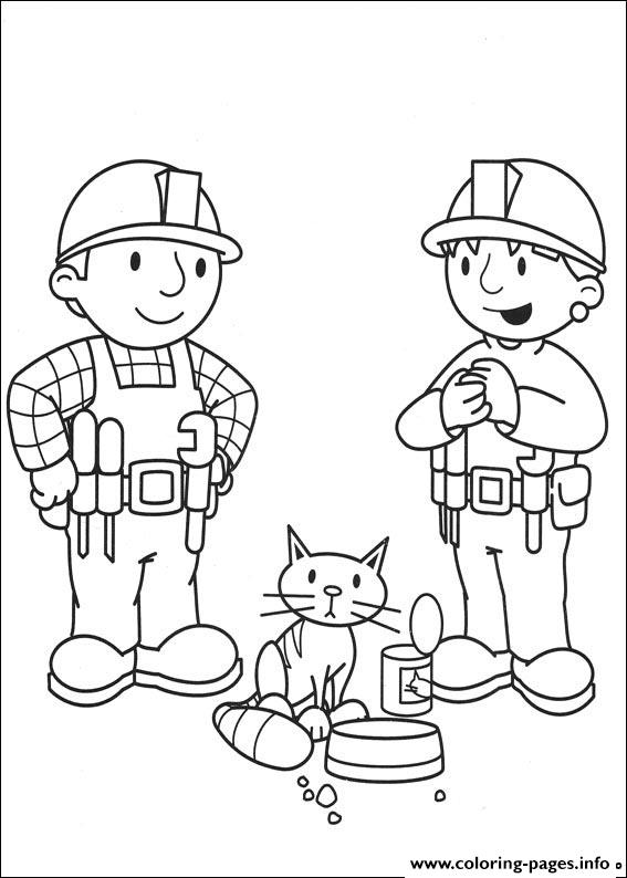 Bob The Builder 90 coloring pages