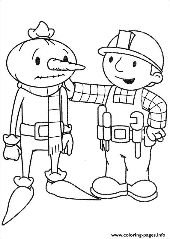 Bob The Builder 76 coloring pages