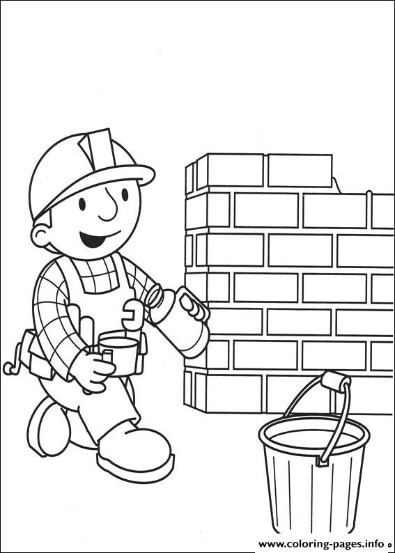 Bob the builder 86 coloring pages printable for Bob the builder coloring pages printable
