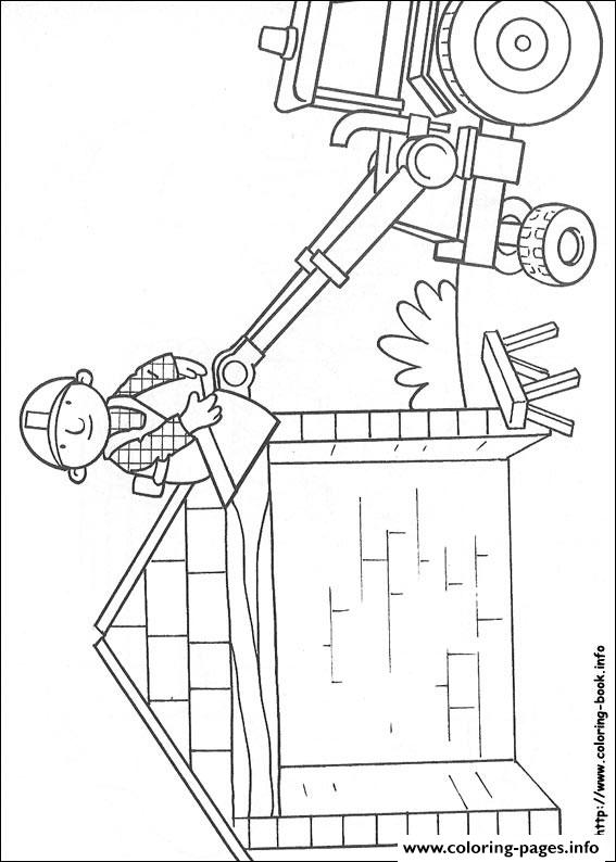 Bob The Builder 33 coloring pages
