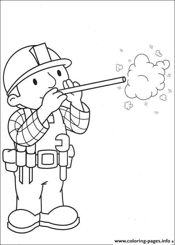 Bob the Builder coloring picture | Coloring books, Coloring pages ... | 794x567