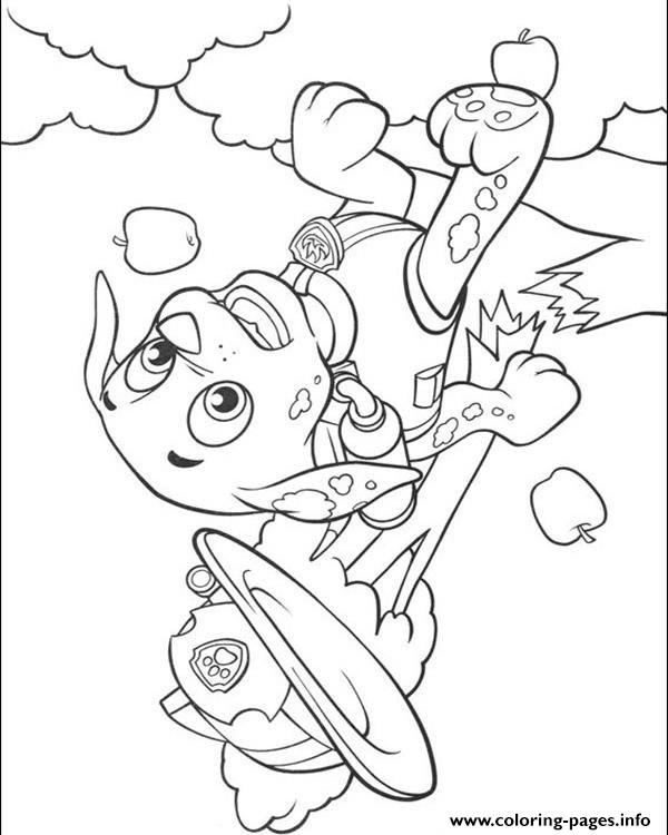Paw Patrol 12 coloring pages