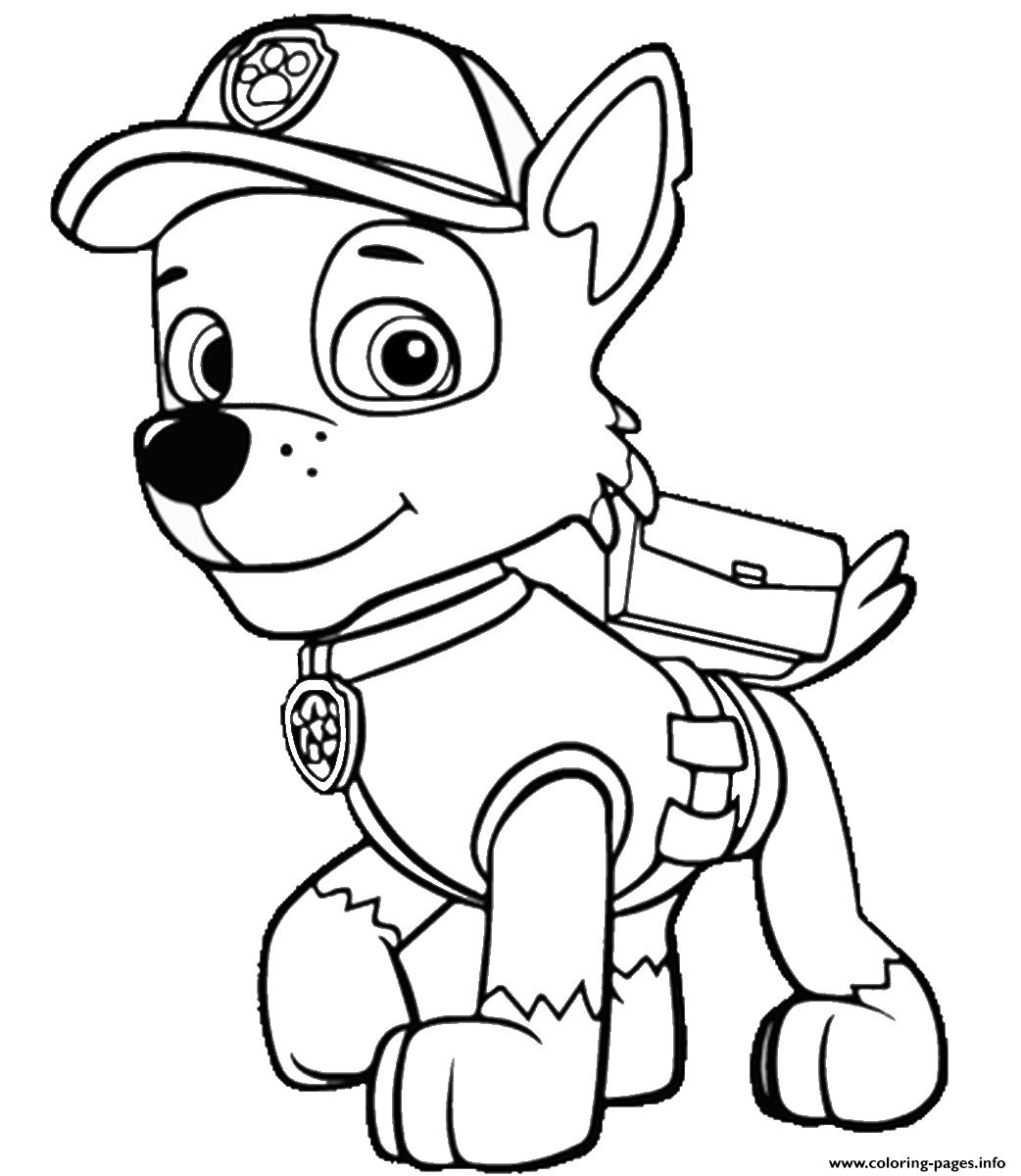 Paw Patrol Lookout Tower Coloring