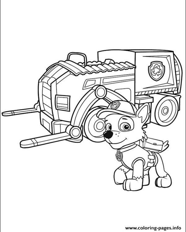 Paw Patrol 8 coloring pages