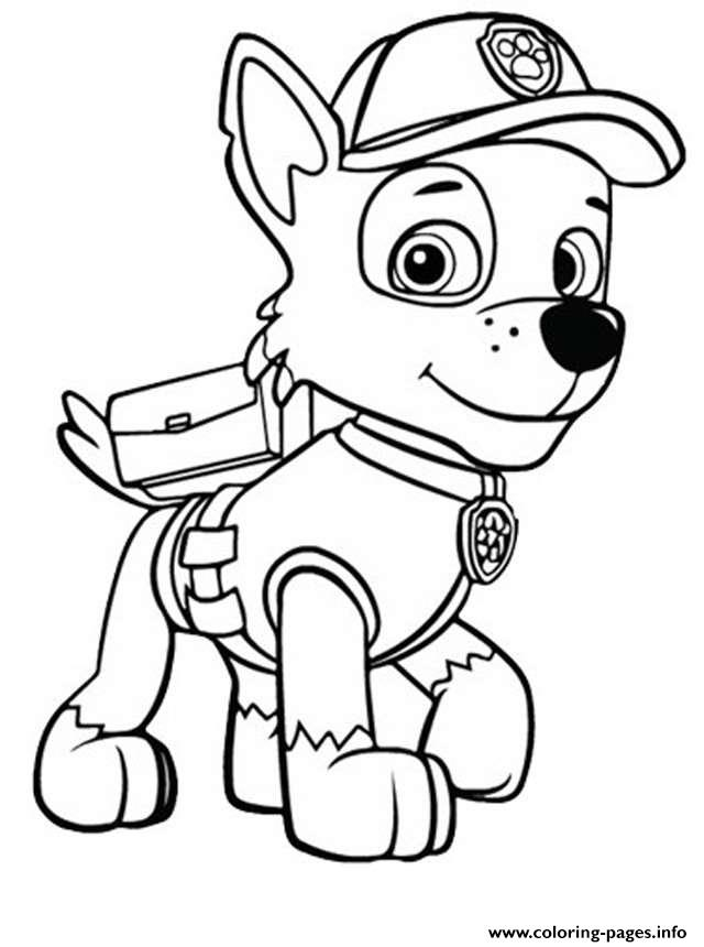 Paw Patrol Zuma 2 Coloring Pages Printable