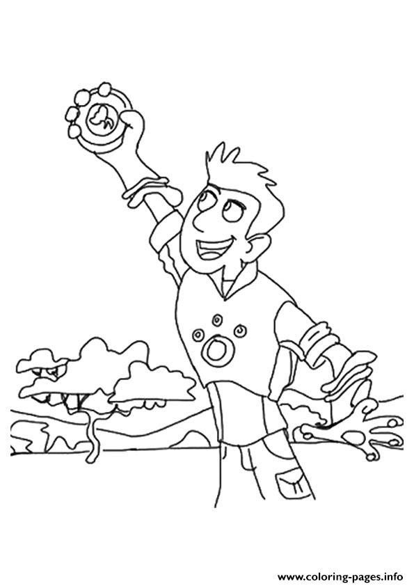 Wild Kratts Coloring Pages Pdf : Coloring pages wild kratts more