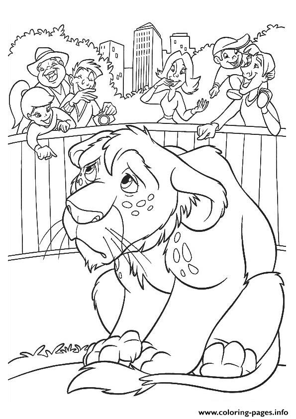wild kratts The Lion Cub Coloring pages Printable