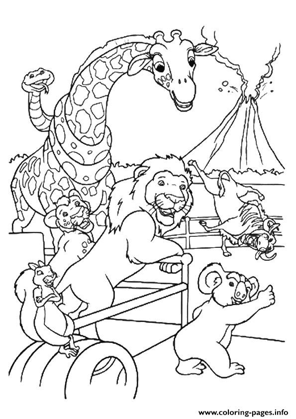 Wild Kratts The Safari Coloring Pages Printable