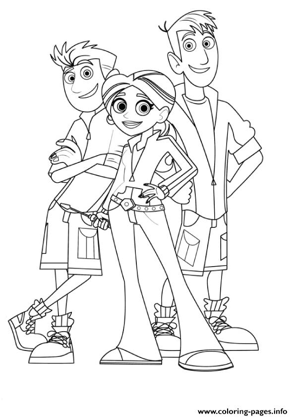 Wild Kratts Coloring Pages Coloring