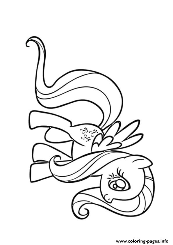 A Fluttershy My Little Pony Coloring