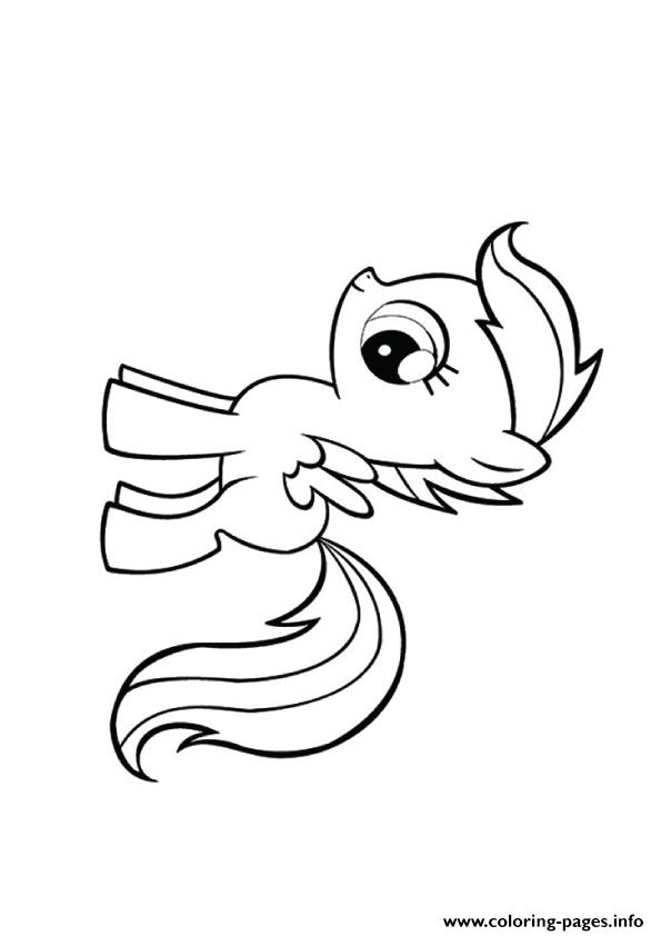 A Scootaloo My Little Pony coloring pages