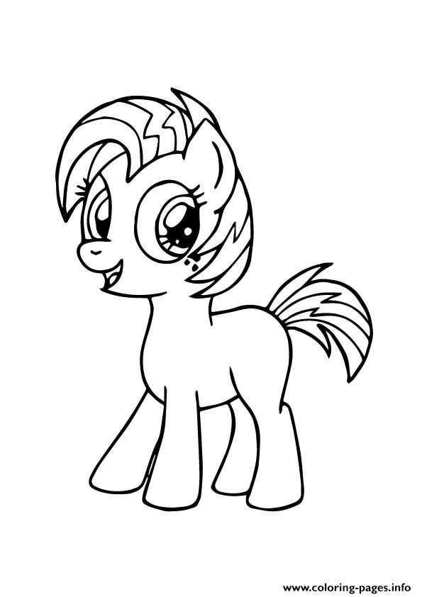A Babs Seed My Little Pony coloring pages
