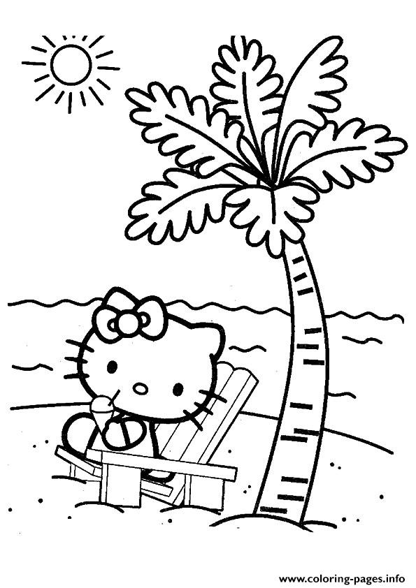 The Hello Kity Kitten coloring pages