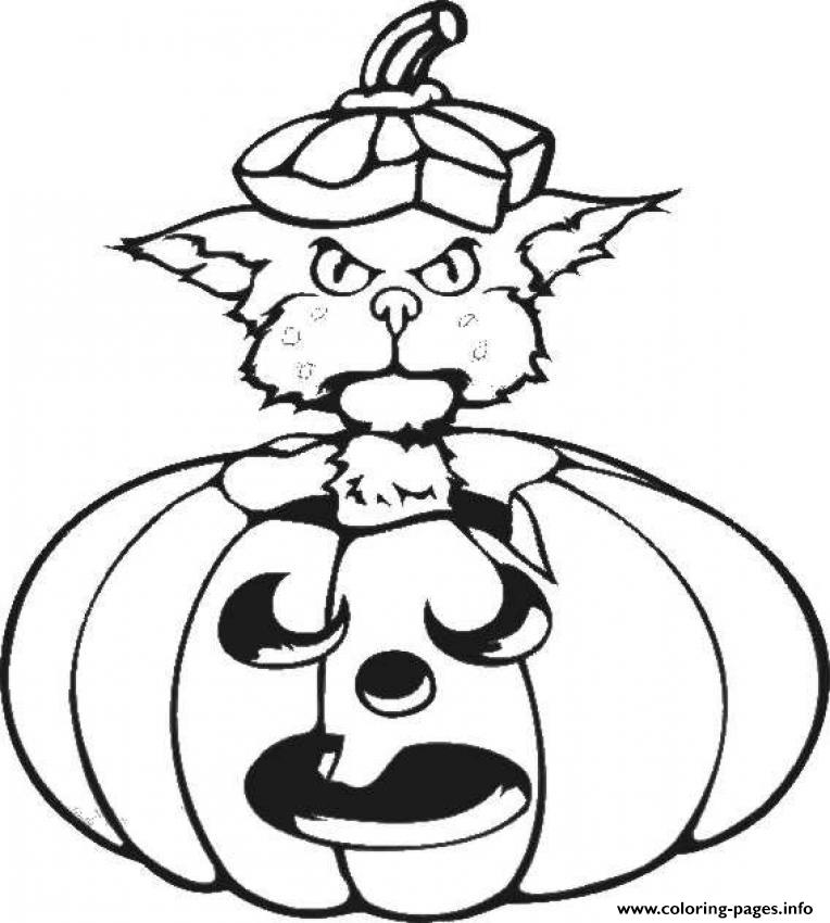 black cat halloween s printable kids849a coloring pages printable