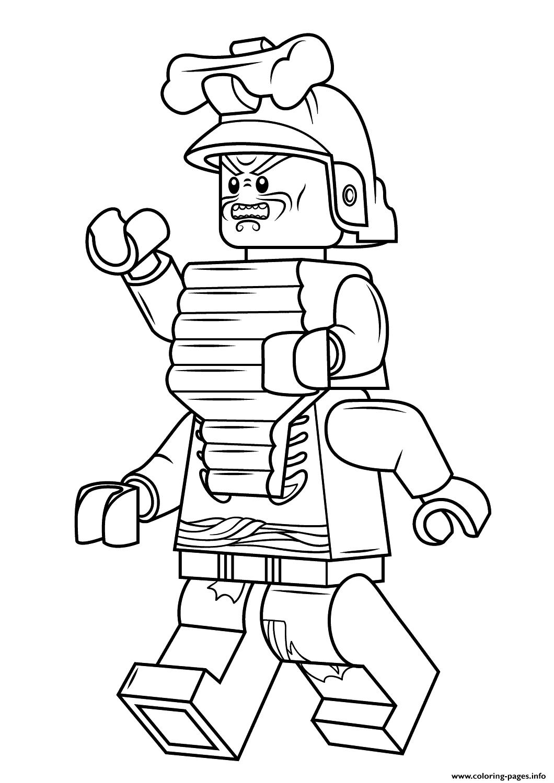 Lego Ninjago Lord Garmadon Coloring Pages Printable