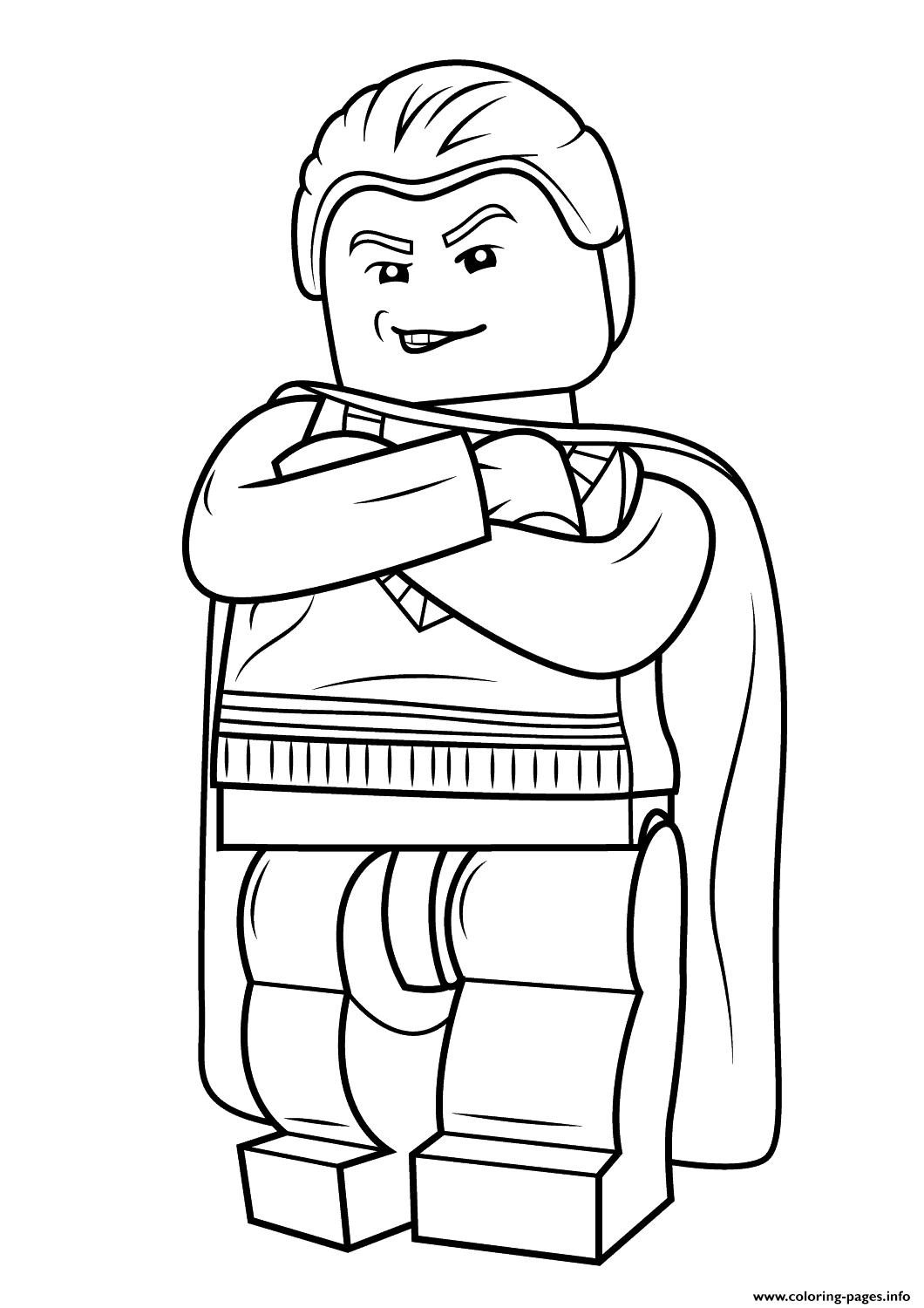 Lego harry potter coloring pages printable - Lego Harry Potter Coloring Pages Printable 7