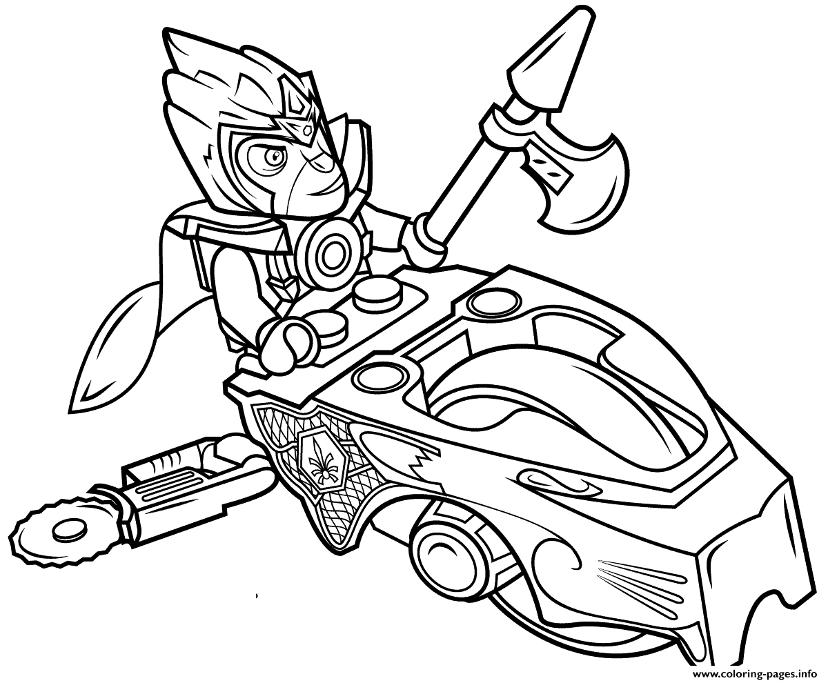 Lego Chima Speedorz Coloring Pages