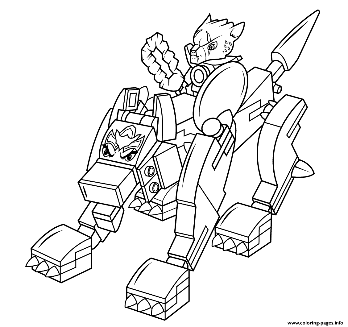 Lego Chima Wolf Coloring Pages