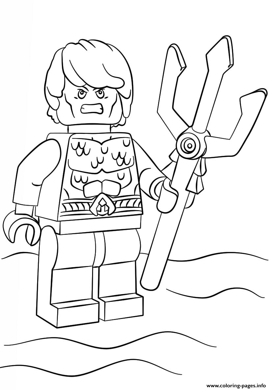 aquaman coloring pages Lego Aquaman Coloring Pages Printable aquaman coloring pages