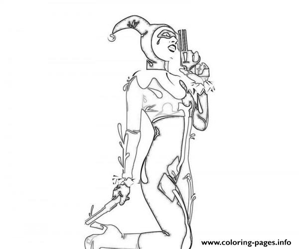 harley quinn coloring pages suicide squad - sexy harley quinn coloring pages
