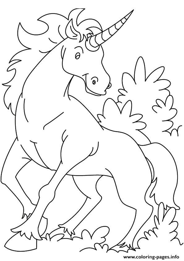 Kirin Unicorn coloring pages