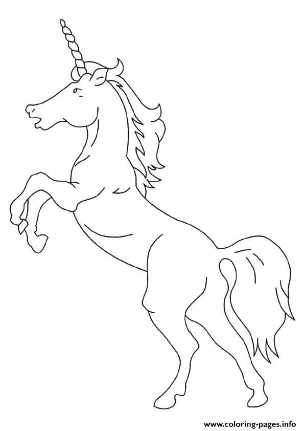 American Unicorn Unicorn coloring pages