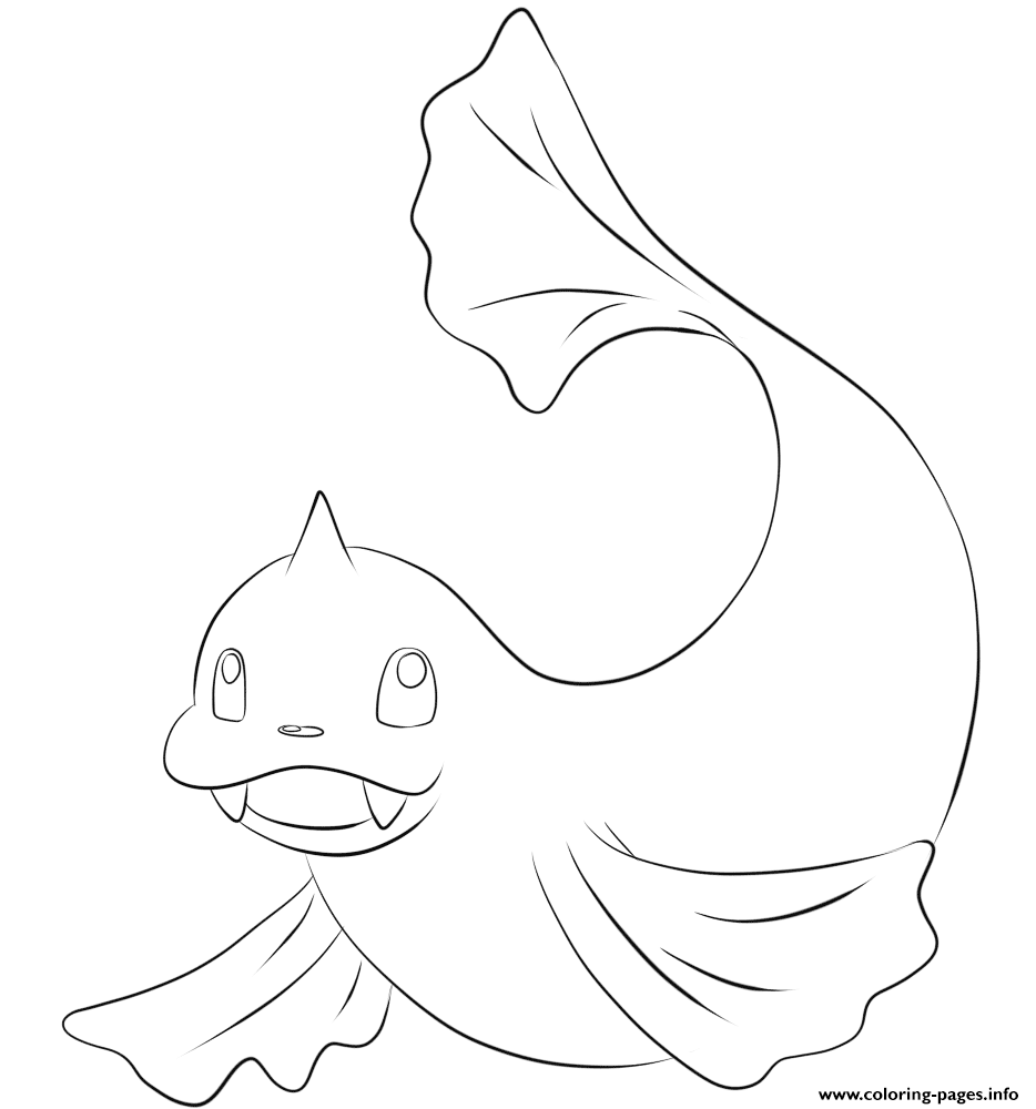 087 dewgong pokemon coloring pages printable