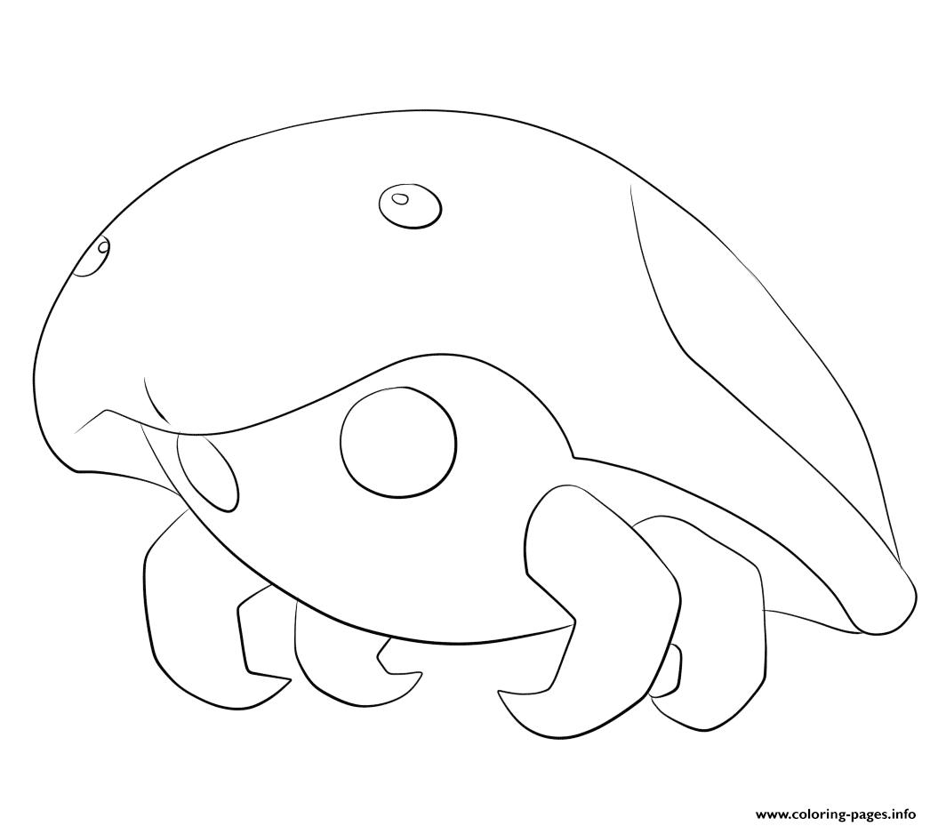 140 Kabuto Pokemon Coloring Pages Printable