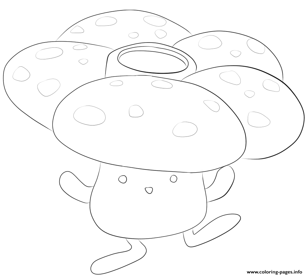 045 vileplume pokemon coloring pages