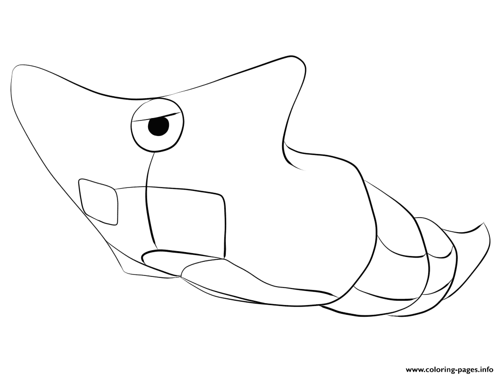 011 metapod pokemon coloring pages printable